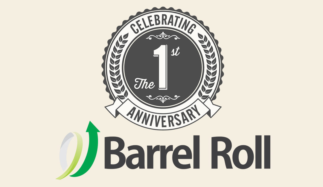 Happy Birthday, Barrel Roll!