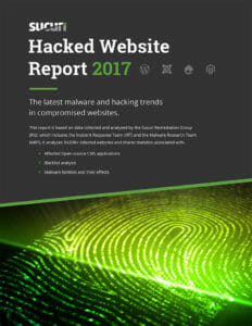 Sucuri Hacked Report 2017
