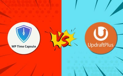 UpdraftPlus vs WP Time Capsule: WordPress Backup Plugin Comparison