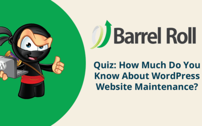 Quiz: How much do you know about WordPress website maintenance?