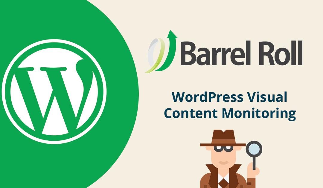 WordPress Visual Contact Monitoring