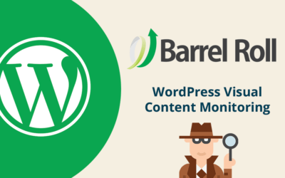 New Feature – WordPress Visual Content Monitoring!